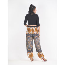 Load image into Gallery viewer, Mandala 196 women harem pants in Black PP0004 020196 01