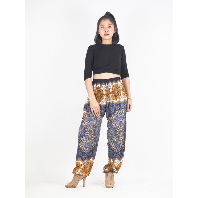 Mandala 196 women harem pants in Navy blue PP0004 020196 05