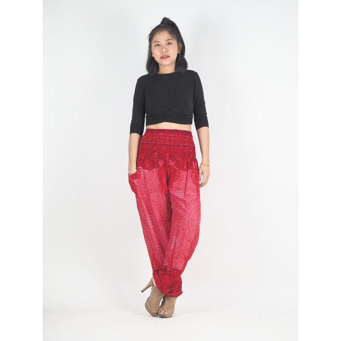 Mandala 212 women harem pants in Red PP0004 020212 03