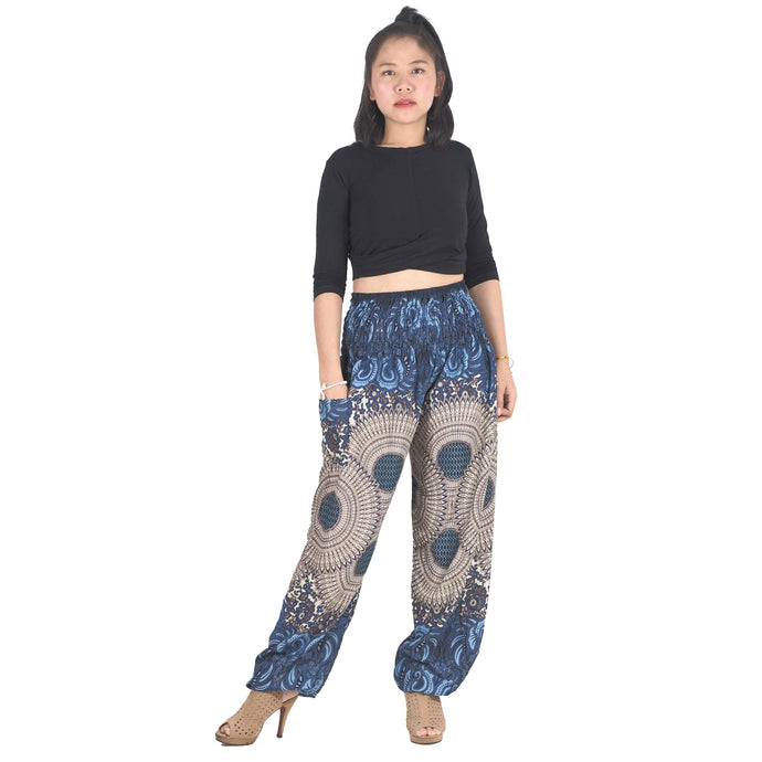 Mandala 213 women harem pants in Black PP0004 020213 03