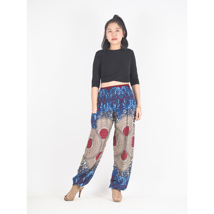 Mandala 213 women harem pants in Red PP0004 020213 06