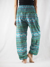 Load image into Gallery viewer, Cute stripes 88 women harem pants in Green PP0004 020088 03
