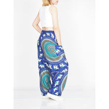 Load image into Gallery viewer, World elephant 115 women harem pants in Navy blue PP0004 020115 01
