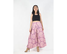 Load image into Gallery viewer, Floral Classic Women's Palazzo Pants in Pink PP0037 020098 05