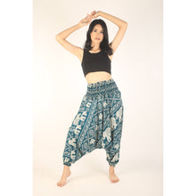 Load image into Gallery viewer, Imperial Elephant Unisex Aladdin drop crotch pants in Green PP0056 020005 02