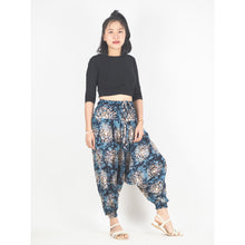 Load image into Gallery viewer, Tie Dye Unisex Aladdin Drop Crotch Pants in Black PP0056 020039 06