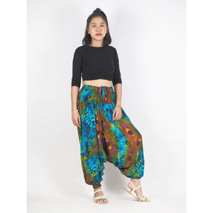 Wild feathers Unisex Aladdin drop crotch pants in Blue PP0056 020073 01