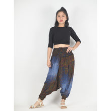 Load image into Gallery viewer, Middle east  Unisex Aladdin drop crotch pants in Navy blue PP0056 020106 06