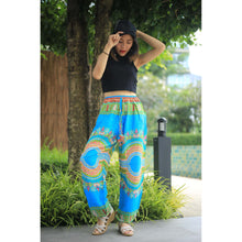 Load image into Gallery viewer, Regue Unisex Drawstring Genie Pants in Blue PP0110 020044 03