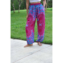 Load image into Gallery viewer, Sunflower Unisex Drawstring Genie Pants in Pink PP0110 020054 06