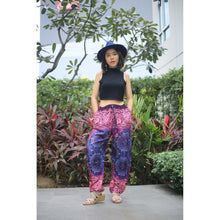 Load image into Gallery viewer, Clock nut Unisex Drawstring Genie Pants in Navy PP0110 020067 02