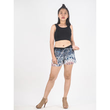 Load image into Gallery viewer, Sunflower Women's Shorts Drawstring Genie Pants in White PP0142 020057 01