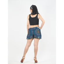 Load image into Gallery viewer, Mandala Women's Shorts Drawstring Genie Pants in Green PP0142 020151 02