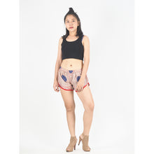 Load image into Gallery viewer, Tone Mandala Women's Mini Pompom Shorts Pants in Red PP0228 020032 02