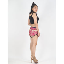 Load image into Gallery viewer, Tone Mandala Women's Mini Pompom Shorts Pants in Pink PP0228 020032 05