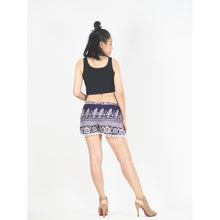 Load image into Gallery viewer, Urban Print Women's Wrap PomPom Shorts Pants in Purple PP0147 020001 03