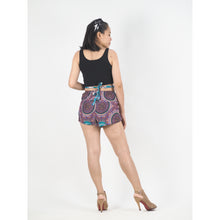 Load image into Gallery viewer, Tone Mandala Women's Blooming Shorts Pants in White PP0206 020091 01