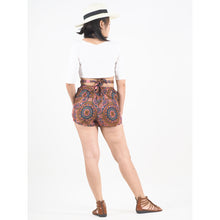 Load image into Gallery viewer, Mandala Women's Blooming Shorts Pants in Red PP0206 020114 06