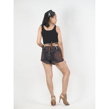 Load image into Gallery viewer, Mandala Women's Blooming Shorts Pants in Black PP0206 020151 06