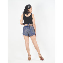 Load image into Gallery viewer, Mandala Women's Blooming Shorts Pants in Blue PP0206 020170 05