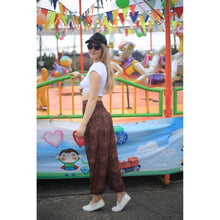 Load image into Gallery viewer, Paisley Mistery 16 women harem pants in Brown PP0004 020016 07