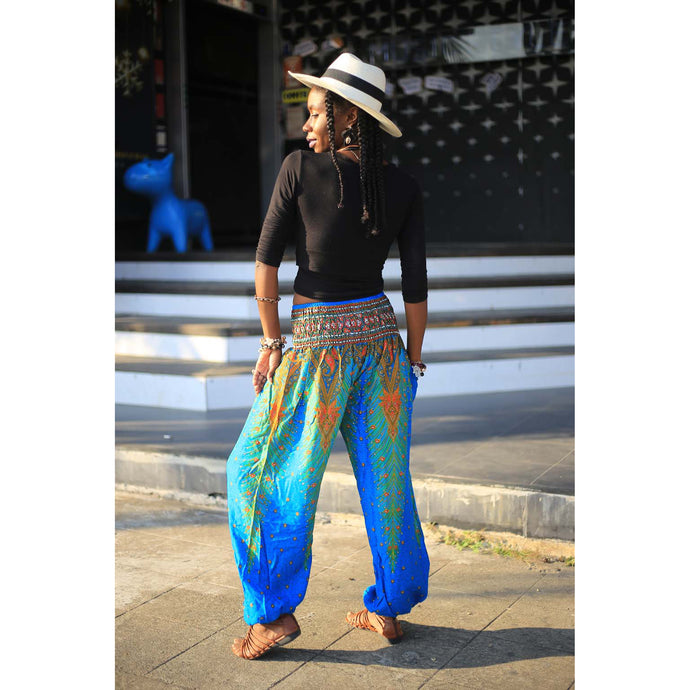 Peacock 8 women harem pants in Blue PP0004 020008 06