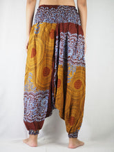 Load image into Gallery viewer, Princess Mandala Unisex Aladdin drop crotch pants in Mustard PP0056 020030 04