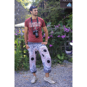 Sunflower 57 men/women harem pants in White PP0004 020057 01