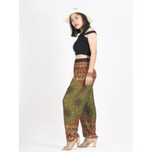Load image into Gallery viewer, Sunflower 92 women harem pants in Green PP0004 020092 01