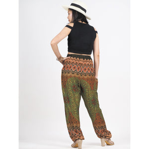 Sunflower 92 women harem pants in Green PP0004 020092 01