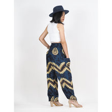 Load image into Gallery viewer, Tie dye 103 women harem pants in Navy blue PP0004 020103 06