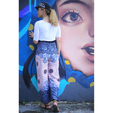 Load image into Gallery viewer, Princess Mandala Women Harem Pants in White PP0004 020030 06