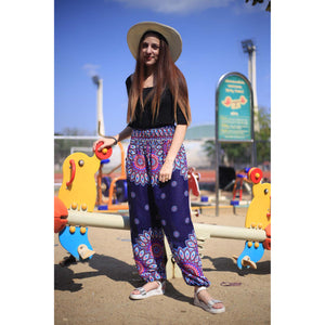Side sunflower 141 women harem pants in Navy blue PP0004 020141 03