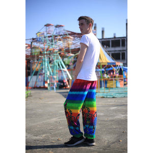 Dancing rainbow 140 men/women harem pants in Green PP0004 020140 01
