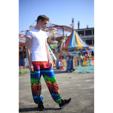 Load image into Gallery viewer, Dancing rainbow 140 men/women harem pants in Green PP0004 020140 01