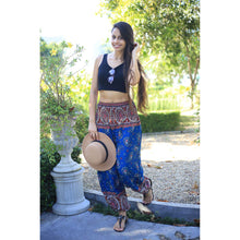 Load image into Gallery viewer, Paisley Indy 117 women harem pants in Ocean blue PP0004 020117 01