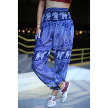 Load image into Gallery viewer, Elephant 107 women harem pants in Navy Blue PP0004 020107 01