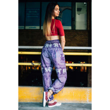 Load image into Gallery viewer, Elephant 107 women harem pants in Purple PP0004 020107 02