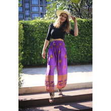 Load image into Gallery viewer, Elephant sky 119 women harem pants in Purple PP0004 020119 06
