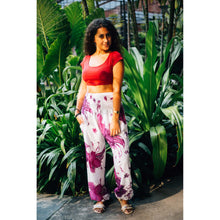 Load image into Gallery viewer, Flower 105 women harem pants in Purple PP0004 020105 04