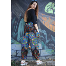 Load image into Gallery viewer, Handmade rose 130 women harem pants in Blue PP0004 020130 03