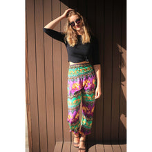 Load image into Gallery viewer, Indian elephant 56 women harem pants in Purple PP0004 020056 04