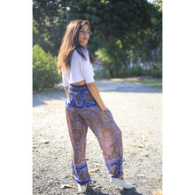 Load image into Gallery viewer, Mandala 114 men/women harem pants in Bright navy PP0004 020114 02