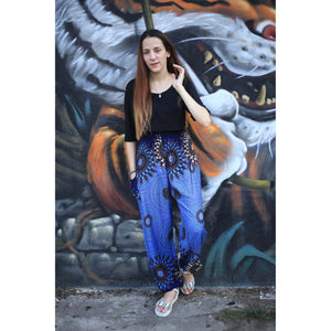 mandala 136 women harem pants in Navy blue PP0004 020136 02