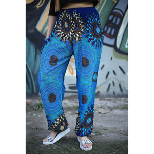 mandala 136 women harem pants in Bright navy PP0004 020136 06