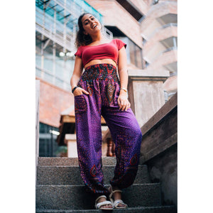Middle east 106 women harem pants in Purple PP0004 020106 04