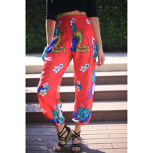 Load image into Gallery viewer, Painted flower 62 women harem pants in Pink PP0004 020062 05