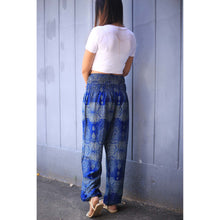 Load image into Gallery viewer, Paisley 133 women harem pants in Blue PP0004 020133 02