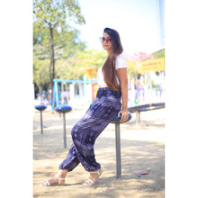 Load image into Gallery viewer, Paisley 133 women harem pants in Navy blue PP0004 020133 05