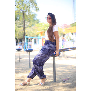 Paisley 133 women harem pants in Navy blue PP0004 020133 05